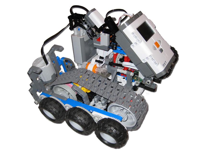 Lego Nxt Dual Grip Plastibots