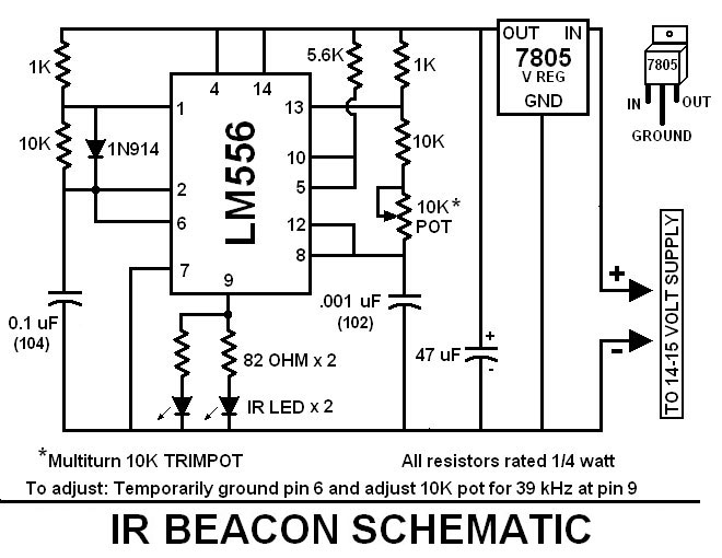 pin 556timer 556 internal circuit 555 timer info
