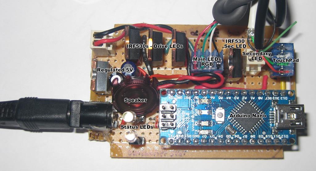 Dual LED Desk Light Controller – Arduino | PlastiBots