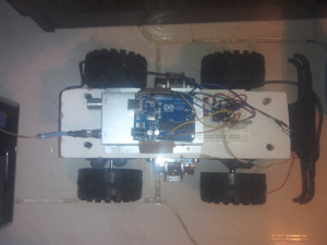 RC Truck using BT Bot Control