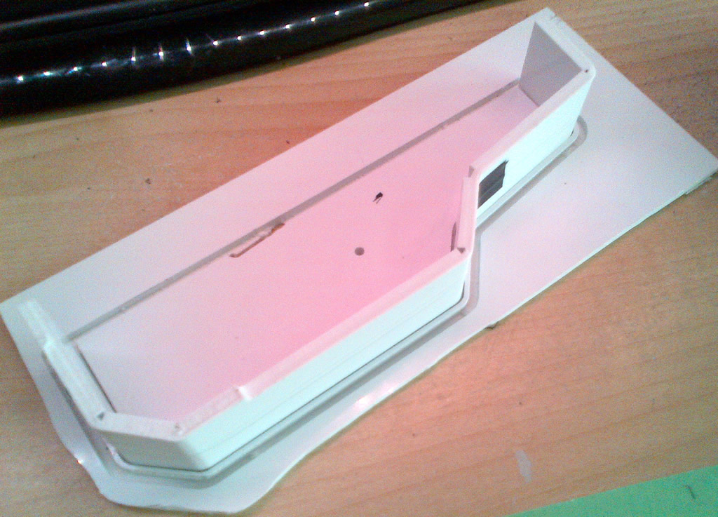 Test Fitting The Side Plate