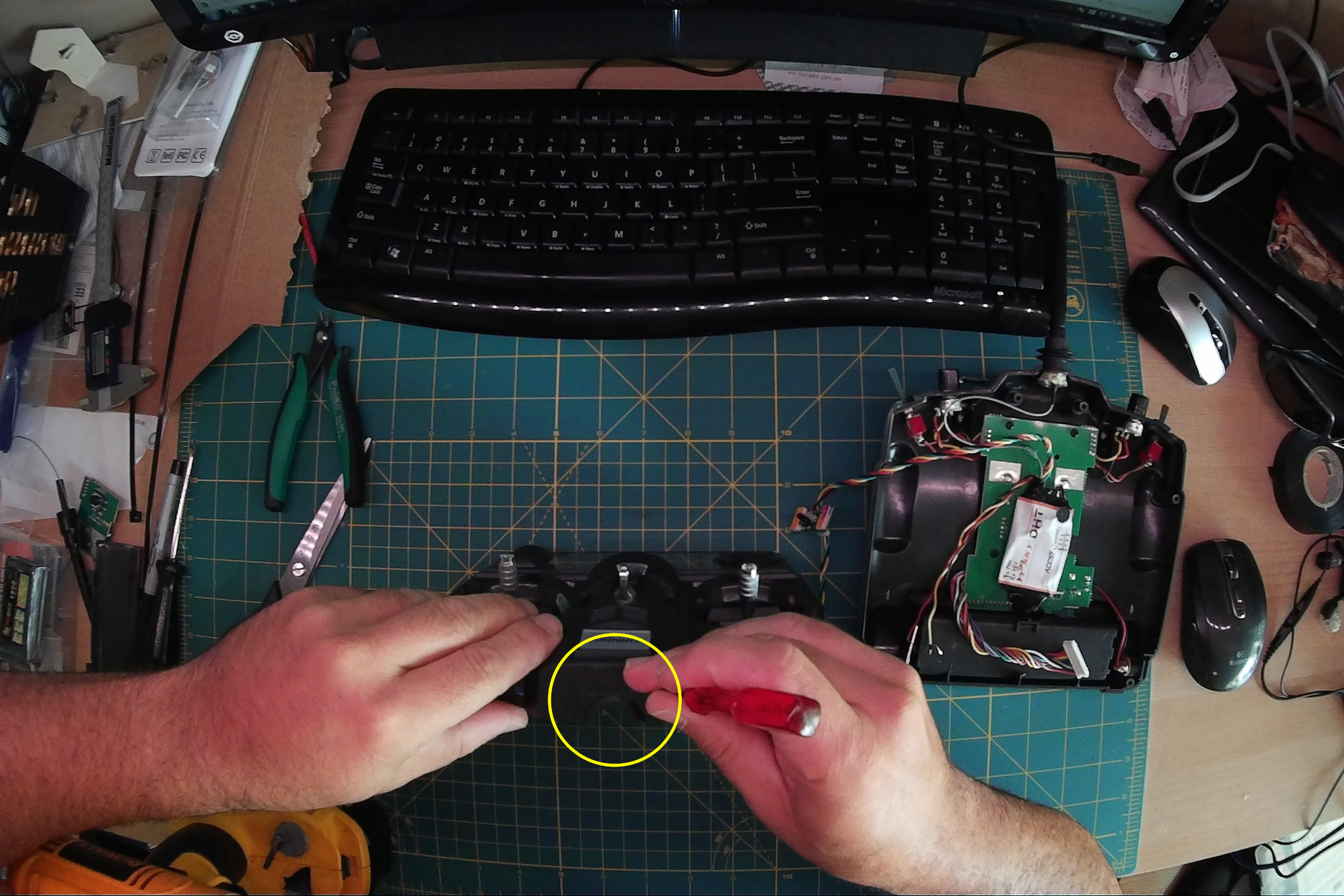How To Install Frsky Dht 8ch Diy Kit Into Turnigy 9x Plastibots 3 Way Switch Er9x