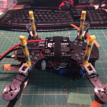 Quad Landing Gear Meets LEGO Shocks