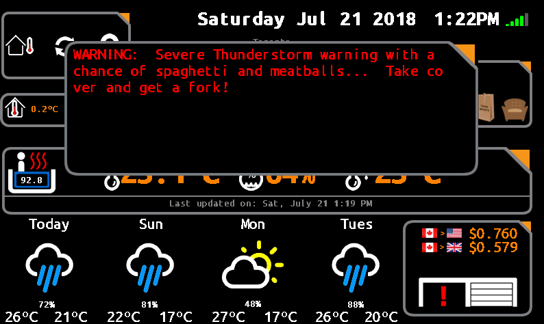 WIoT-2 Weather and Home Automation – Nextion with ESP8266/ESP32