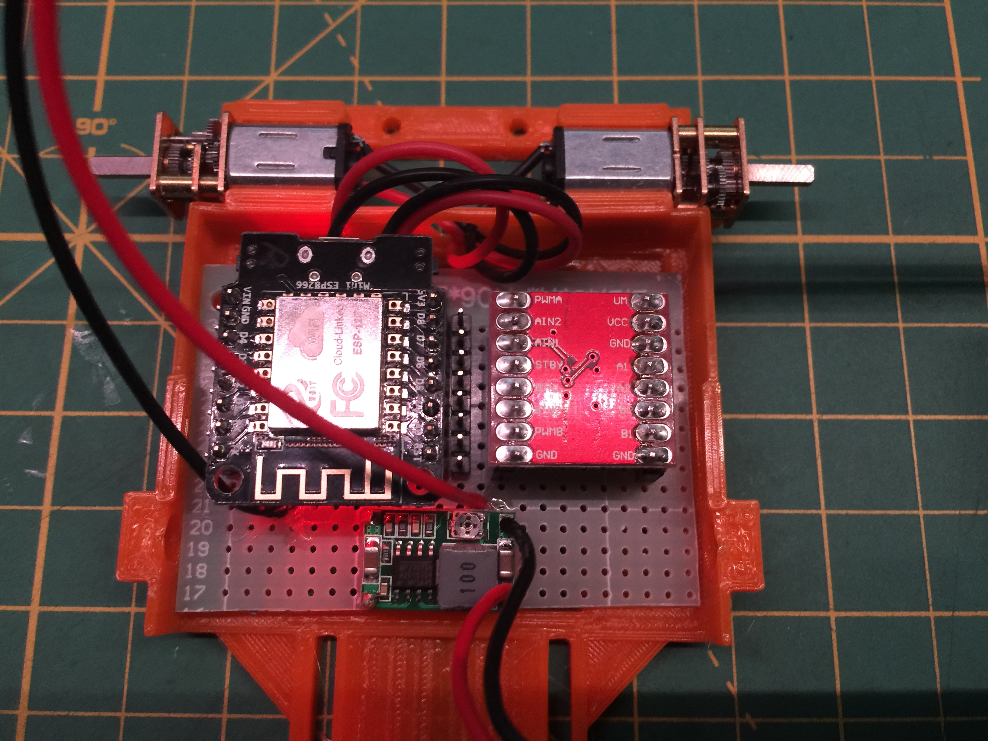 Dicontinued -WiFi Bot Control – Using NodeMCU (ESP8266) | PlastiBots